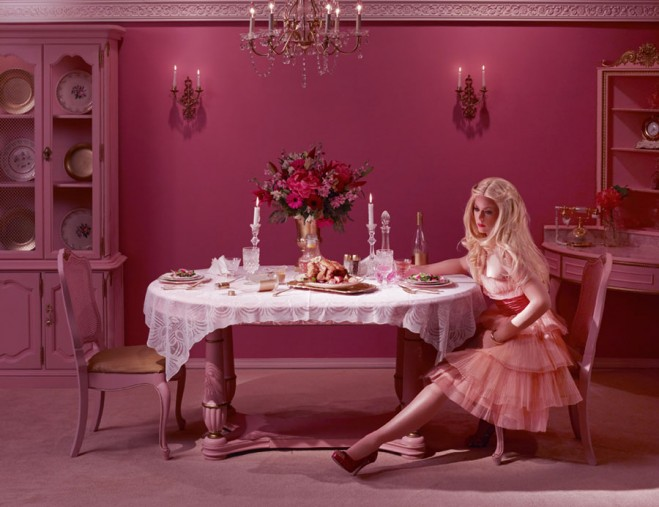 13 Beautiful Photographs - Dollhouse Fallen Princess Dina Goldstein photography fairy tale