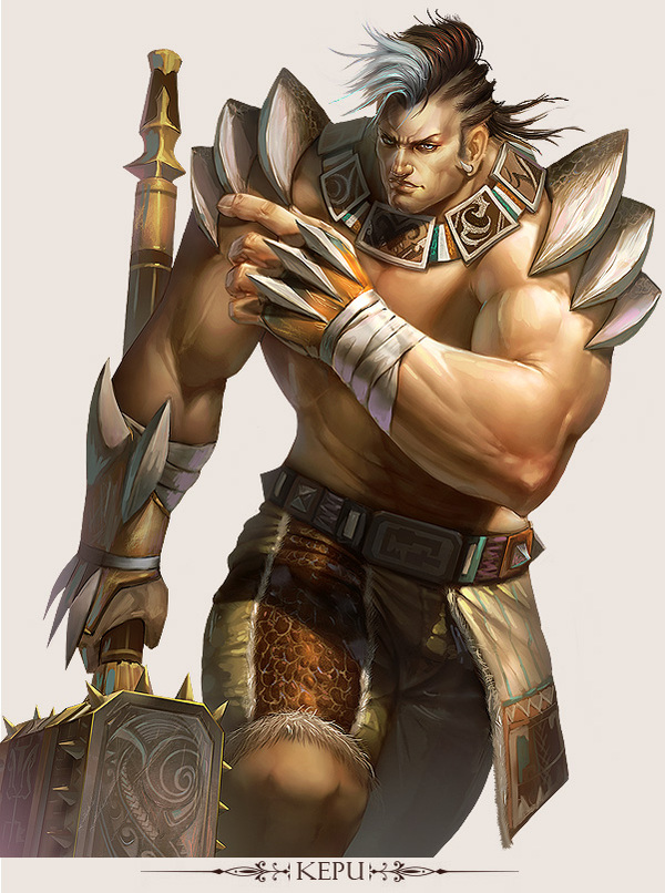 game character design fantasy art hong yu (6)