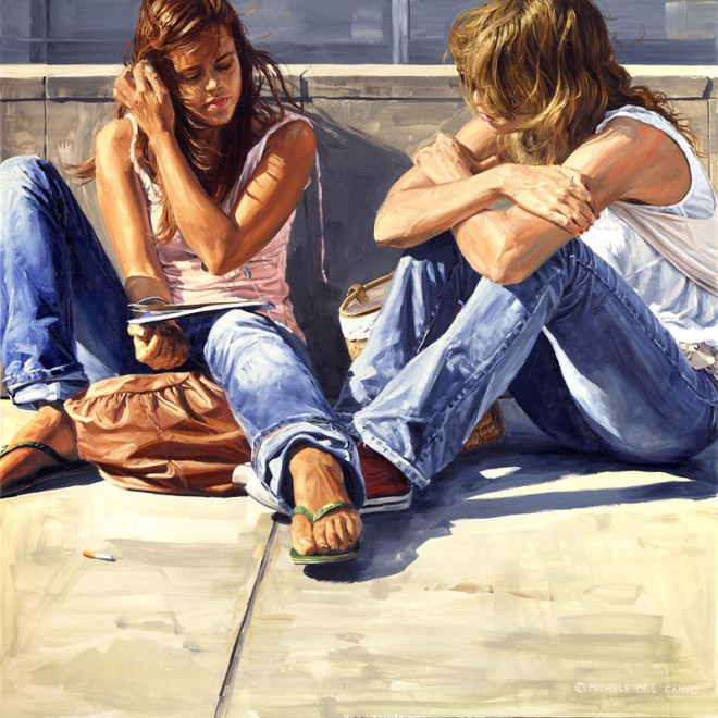 michele del campo painting%20(3).preview 25 Awesome Urban Youth Paintings by Michele Del Campo