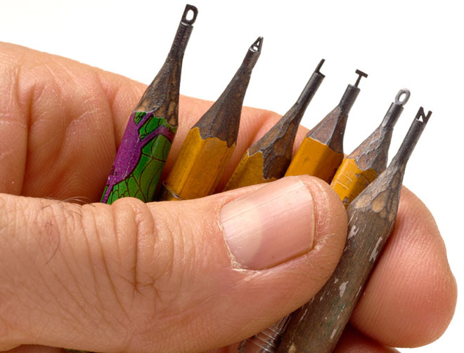 pencil lead sculpture amazing beautiful best Dalton Ghetti sculptures creative pencils