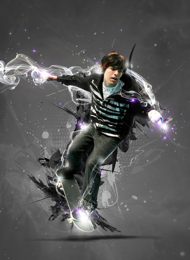 25 creative photoshop sparkling effects and photo manipulation works