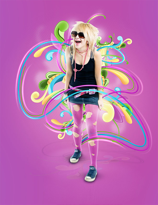 photoshop effect%20(5) 25 Creative Photoshop Sparkling Effects and Photo manipulation works for your inspiration