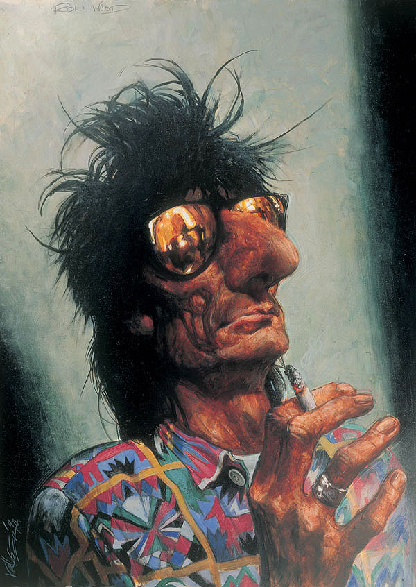 Picture-26 ( 26 Beautiful Paintings and Caricatures by Sebastian Kruger )