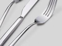 Silverware - a vector drawing by K. Fairbanks
