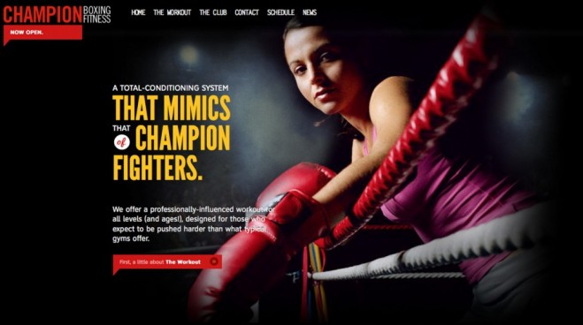 website Champion Boxing Fitness