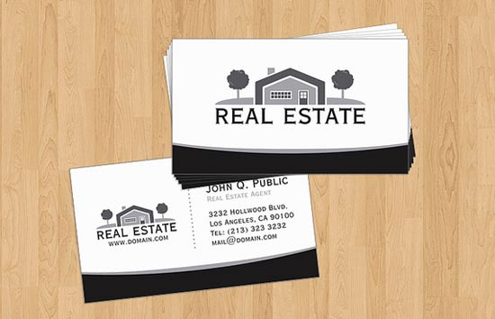real estate business cards 17 - preview