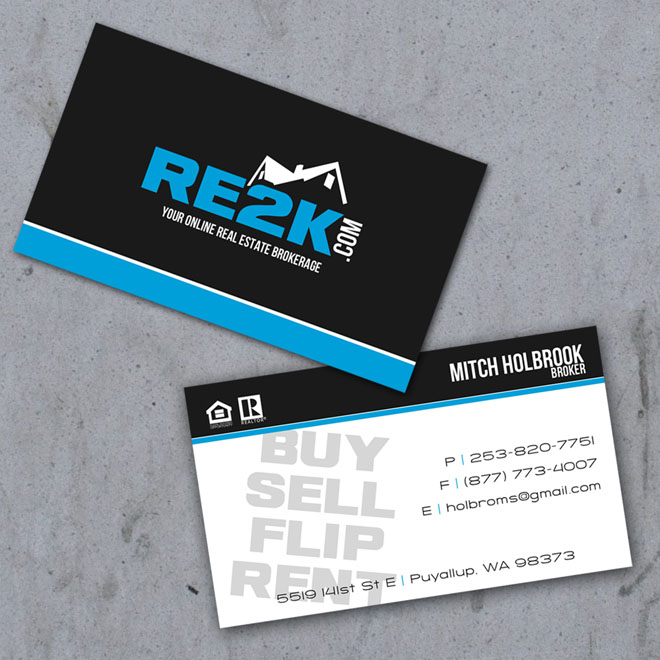 40 creative real estate and construction business cards designs