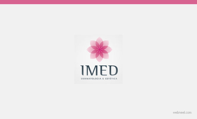 flower logo design simple