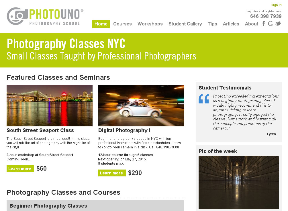 What Can i Expect from a Photography Class?