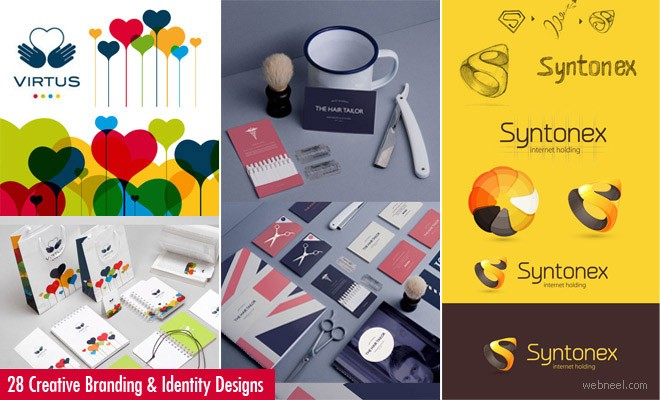 50 Creative Branding and Identity Design examples for your inspiration