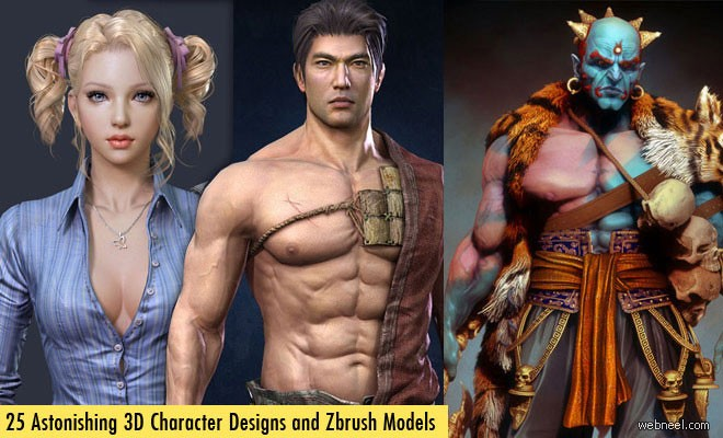 3D Character Models Download