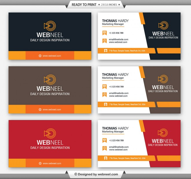 40 professional free business card templates with source files corporate business card template 1 friedricerecipe Choice Image