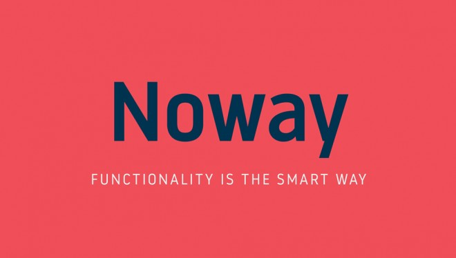 free font - noway