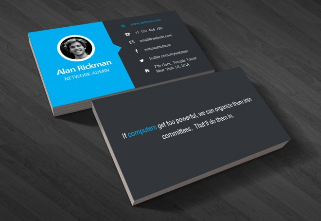 2 corporate business card template