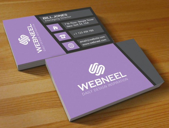 30 modern business card template - free download