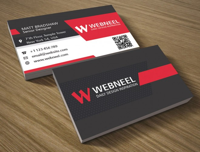 33 modern business card template - free download