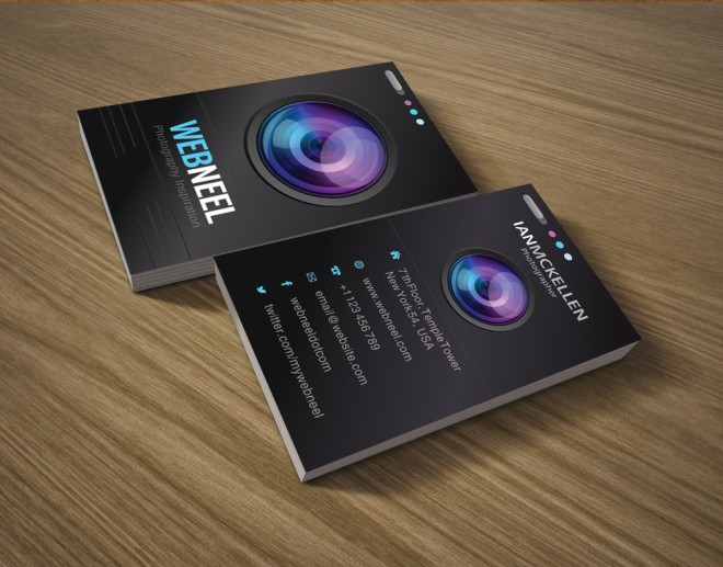 10 business card design templates for photographers download ai psd photography business card design template 3 accmission Images