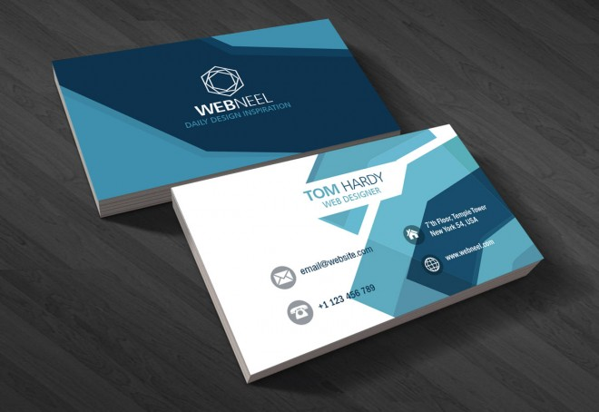 5 modern business card template