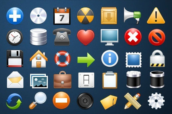 30 Free Icon sets for graphic and web designers - Download now: webneel.com/webneel/blog/30-free-icon-sets-graphic-and-web...
