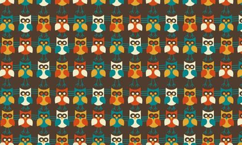 pattern retro 2