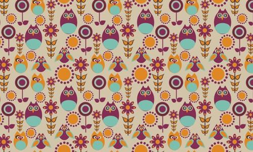 retro pattern45