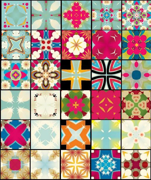 retro ps patterns - 78 patterns