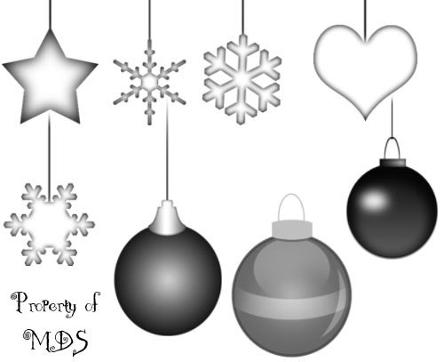 mds christmas ornaments