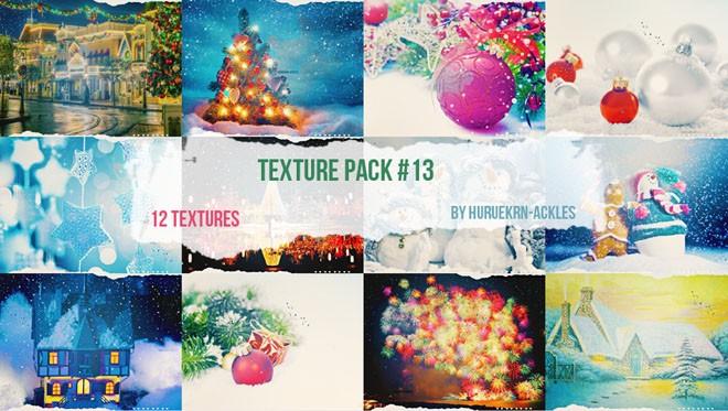 christmas texture by huruekrn