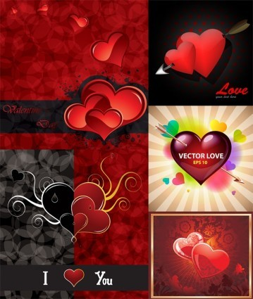 valentine day vector elements