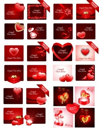 valentine day vector design 1