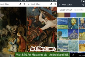 Visit 850 Art Museums via Mobile App - Android and IOS