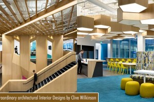Extraordinary architectural interior design ideas by Clive Wilkinson