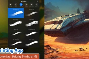 Procreate - A Painting App for IOS phones and tablets