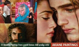 25 Beautiful Akiane Paintings from a world famous child prodigy artist