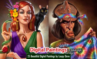 50 Beautiful Digital Paintings from top artists around the world