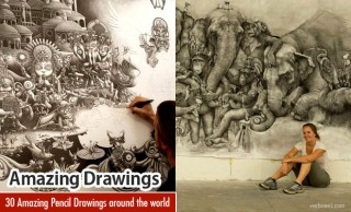 30 Amazing Pencil Drawings around the world for your inspiration
