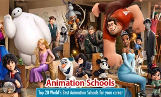 Top 20 World's Best Animation Schools for your career