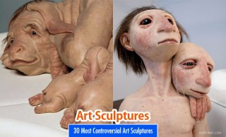 30 Most Controversial Art Sculptures by Patricia Piccinini