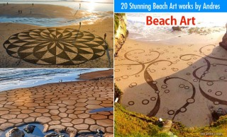 20 Stunning Beach Art works by Andres Amadors