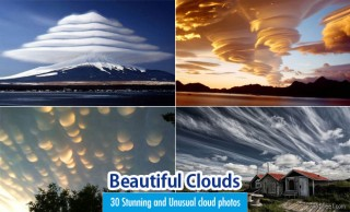 30 Stunning and Beautiful Clouds Photos - Unusual Cloud Formation