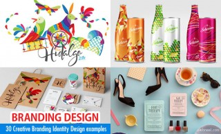 40 Creative Branding Identity Designs from famous web designers
