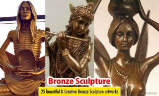 25 Beautiful Bronze Sculptures and Bronze Casting Art works