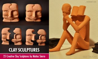 20 Creative and Beautiful Clay Sculptures by Matias Sierra