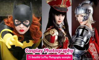 25 Beautiful CosPlay Photography examples - Creative Props and Costumes