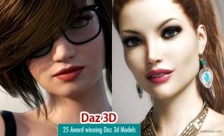 25 Award Winning Daz 3D Models for your inspiration