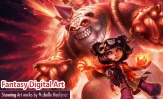 Stunning Fantasy Digital Art works by Michelle Hoefener