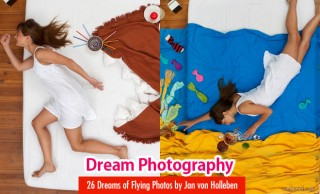 26 Dreams of Flying series Photos - Photography ideas by Jan von Holleben