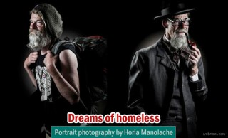 Dreams of homeless people portrait photography by Horia Manolache