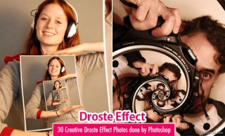 30 Creative Droste Effect Photos created by Adobe Photoshop