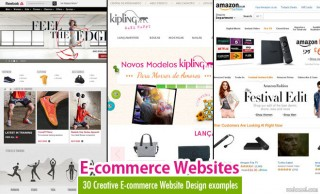 30 Creative E-commerce Website Design examples for your inspiration